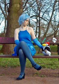 Cosplay-Cover: Rei Ayanami (Party Time Version)