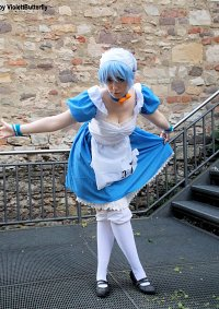Cosplay-Cover: Rei Ayanami (Maid Version)