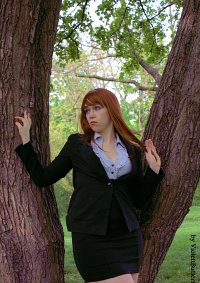 Cosplay-Cover: Pepper Potts (Business Outfit)