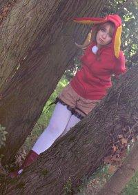 Cosplay-Cover: Sakura Kinomoto (Snow Rabbit)