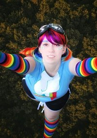 Cosplay-Cover: Rainbow Dash Gijinka