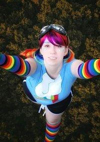 Cosplay-Cover: Rainbow Dash Gijinka