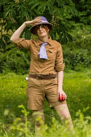 Cosplay-Cover: Jane Porter [Pokemon-Trainerin]