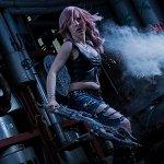 Cosplay: Lightning [Aya Brea Version]