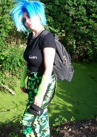Cosplay-Cover: Crazy in Green und Blue^^
