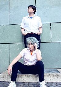 Cosplay-Cover: Kaworu Nagisa