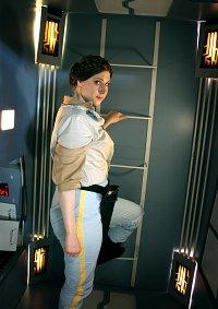 Cosplay-Cover: Leia Organa [Return of the Jedi]