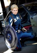 Cosplay-Cover: Steven G. Rogers [Stealth Suit]