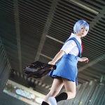 Cosplay: Ayanami Rei [Schuluniform]