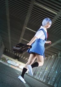 Cosplay-Cover: Ayanami Rei [Schuluniform]