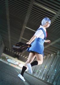 Cosplay-Cover: Ayanami Rei [Schuluniform]