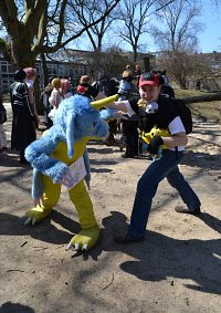 Cosplay-Cover: Ash Ketchum (DP-Outfit)