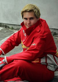 Cosplay-Cover: Lightning McQueen (Cars) - Rennlackierung