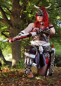 Cosplay-Cover: Artemis [Primal Huntress]
