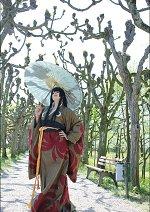 Cosplay-Cover: Yuuko Ichihara [Gelber Kimono]