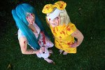 Cosplay-Cover: Rin Kagamine halloween version