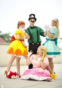 Cosplay-Cover: Luigi [Vintage Super Mario Bros]