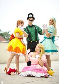 Cosplay-Cover: Luigi [Vintage Super Mario Bros]