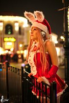 Cosplay-Cover: Super Sonico {Christmas}