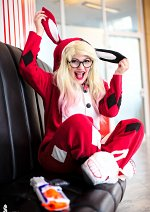 Cosplay-Cover: Harley Quinn {Pyjama}