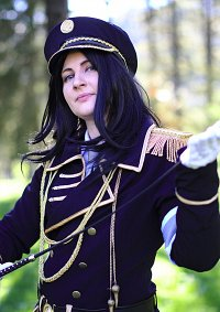 Cosplay-Cover: Kuroh Yatogami (Military)