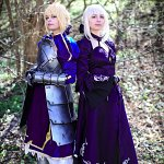 Cosplay: Aturia Pendragon ~Saber Stage 3 vers.