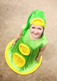 Cosplay-Cover: Green Tentacle
