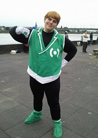 Cosplay-Cover: Guy Gardner/Green Lantern (Batman: TBATB)