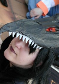 Cosplay-Cover: Red Eyes Black Dragon-Girl