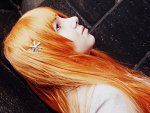Cosplay-Cover: Orihime Inoue (Schuluniform)