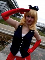 Cosplay-Cover: Miss Captain America