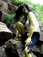 Cosplay-Cover: Lady Hulk