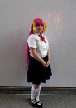 Cosplay-Cover: Momoko Hanasaki (Schuluniform)