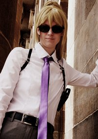 """Cosplay-Cover: Mr. K (Claude """"K"""" Winchester)"""