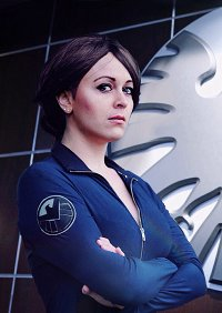 Cosplay-Cover: Agent Maria Hill