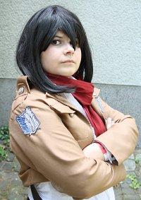 Cosplay-Cover: Mikasa Ackermann [Scout Legion]
