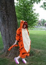 Cosplay-Cover: Kairi went to the Hundred Acre Wood Tigger
