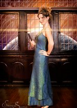 Cosplay-Cover: River Song (green ball gown)