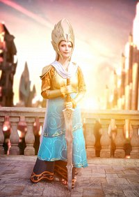 Cosplay-Cover: Frigga (Marvel Avengers Academy Mobile Game)