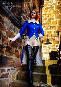 Cosplay-Cover: Captain Amelia (Der Schatzplanet)