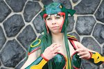 Cosplay-Cover: Rayquaza