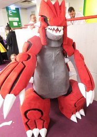 Cosplay-Cover: Groudon [Fursuit]