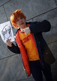 Cosplay-Cover: Scott Pilgrim [Comic-Version]