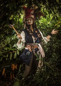 Cosplay-Cover: Cannibal King Jack Sparrow