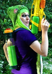 Cosplay-Cover: Splatoon Inkling