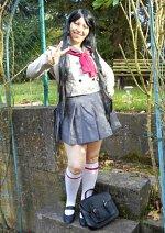 Cosplay-Cover: Rei Hino Schuluniform