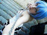 Cosplay-Cover: Rei Ayanami [Gothic Lolita]