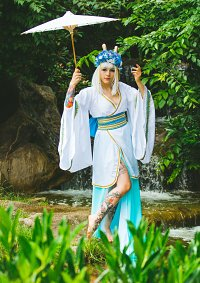 Cosplay-Cover: Haku (Drache/Eigenkreation)