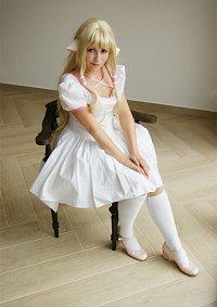 Cosplay-Cover: Chii (weißes Kleid)