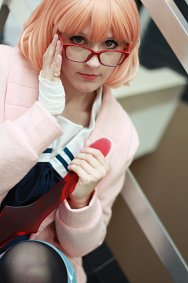 Cosplay-Cover: Mirai Kuriyama 『Winter School Uniform』